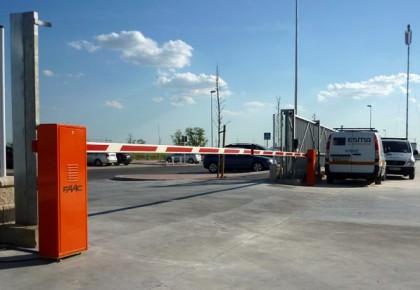 Barreras automáticas en Torrejón