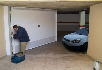 Reparación puertas de garaje