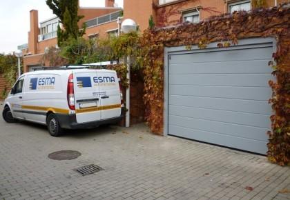 Puertas de garaje en El Molar