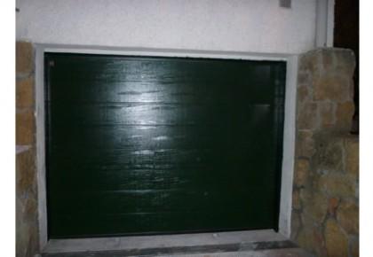 Instalación Puerta Garaje Seccional en Madrid