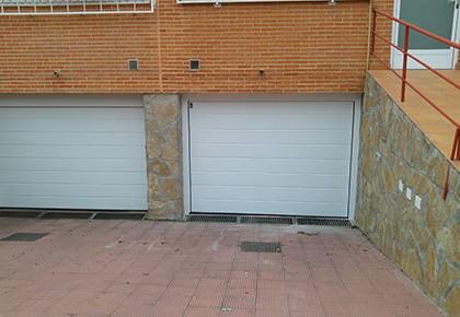 Puertas seccionales Las Rozas