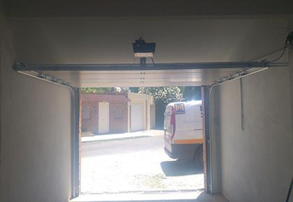 Puerta garaje Galapagar