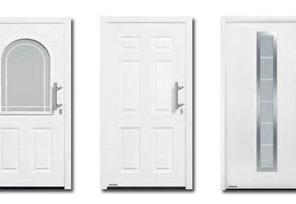 Puertas de entrada de acero