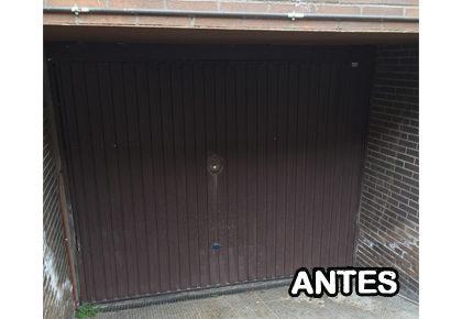Puerta de garaje en El Casar